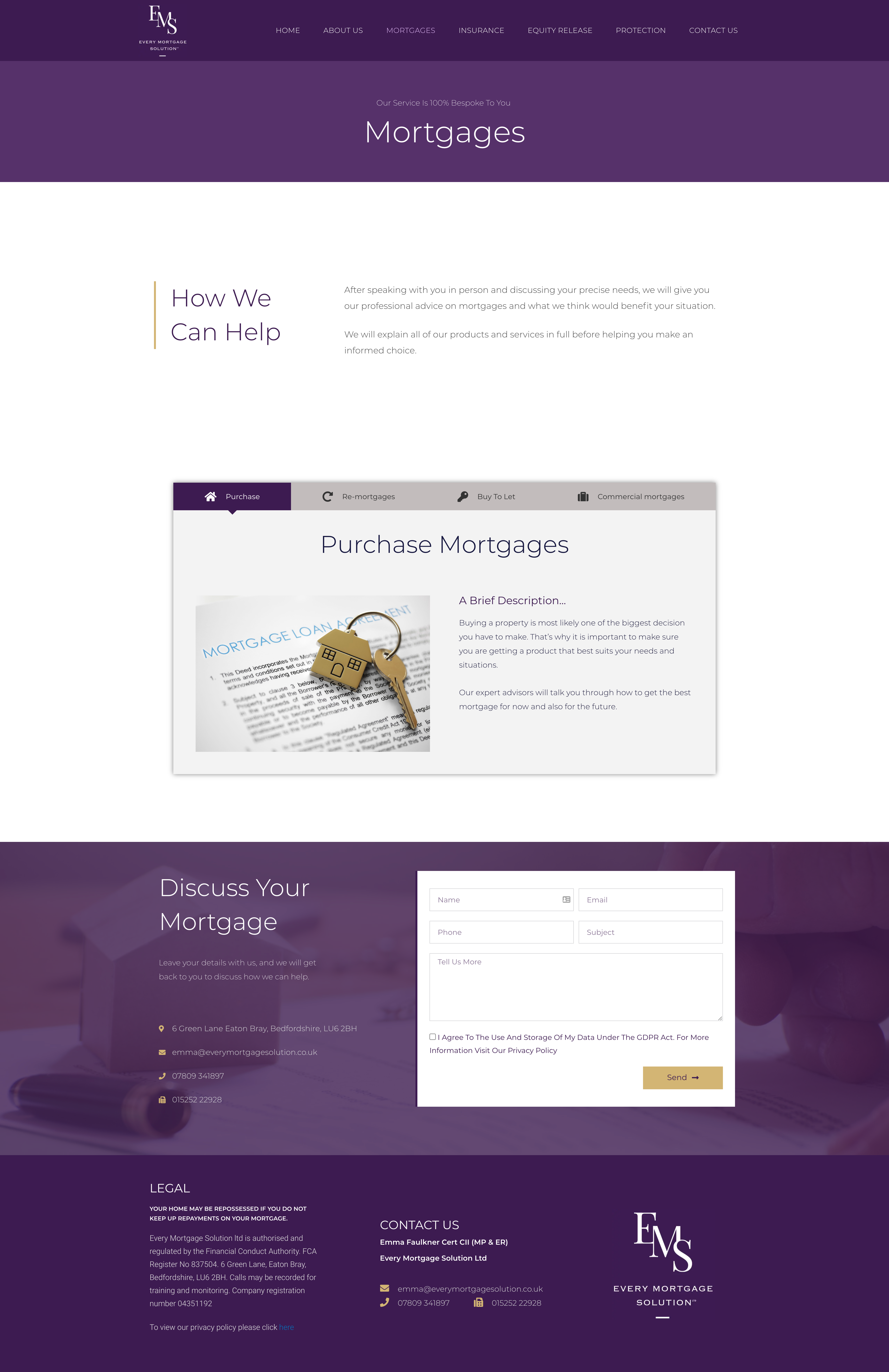 Every Mortgage Solution Website